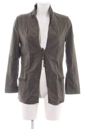 Zara Basic Safari Jacket brown casual look