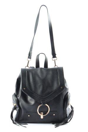 Zara Basic Sacoche noir imprimé allover style décontracté