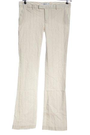 Zara Basic Pantalon pattes d'éléphant motif rayé style décontracté