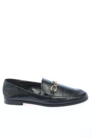 Zara Basic Slip-on noir style décontracté