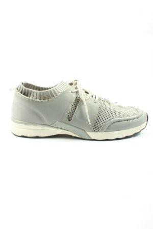 Zara Basic Schlüpfsneaker hellgrau sportlicher Stil