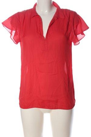 Zara Basic Blouse à enfiler rouge style décontracté
