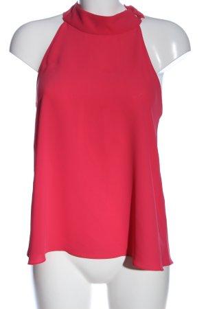 Zara Basic Schlupf-Bluse pink Business-Look