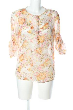 Zara Basic Blouse à enfiler motif de fleur style d'affaires