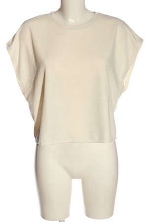 Zara Basic-Shirt creme Casual-Look