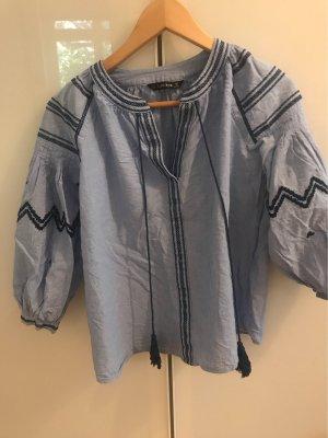 Zara Basic Shirt Bluse