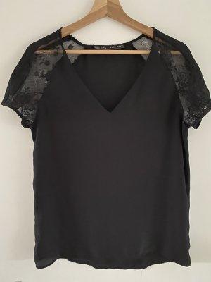 Zara Basic Shirt Spitze