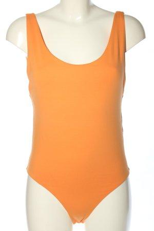 Zara Basic Shirt Body light orange casual look