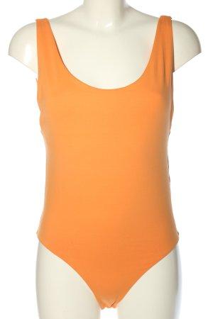 Zara Basic Shirtbody hellorange Casual-Look