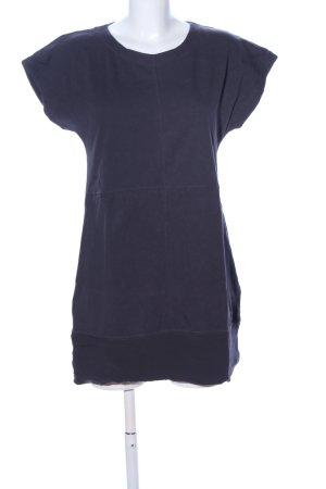 Zara Basic Shirtkleid blau Casual-Look