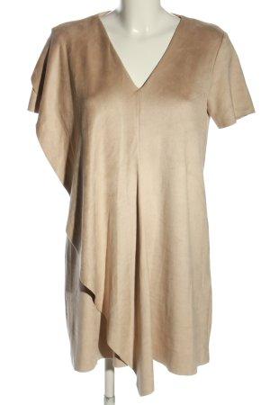 Zara Basic Shirtkleid creme Casual-Look