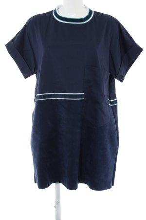 Zara Basic Shirtkleid mehrfarbig Casual-Look