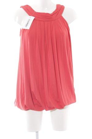 Zara Basic Shirtkleid rot sportlicher Stil