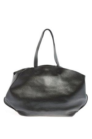 Zara Basic Torba shopper czarny W stylu biznesowym