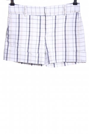 Zara Basic Shorts Karomuster Casual-Look