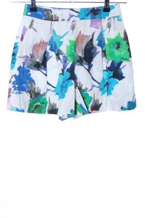 Zara Basic Shorts motivo floreale stile casual