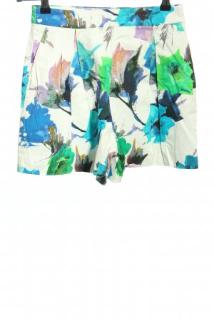 Zara Basic Shorts abstraktes Muster Elegant
