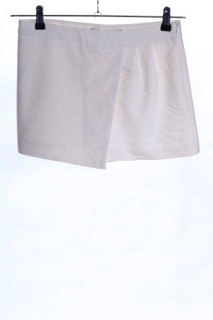 Zara Basic Shorts hellgrau Casual-Look