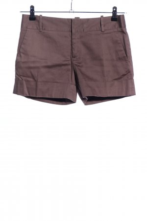 Zara Basic Shorts braun Casual-Look