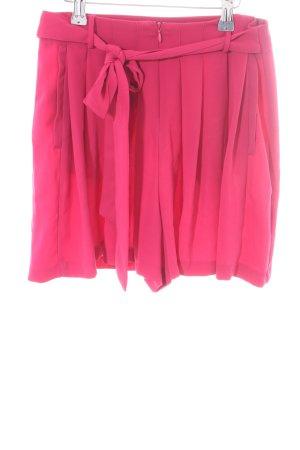 Zara Basic Shorts pink Casual-Look
