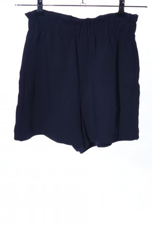 Zara Basic Shorts blau Casual-Look