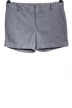 Zara Basic Shorts gris claro moteado look casual