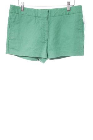 Zara Basic Shorts grün Casual-Look