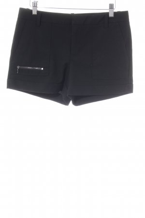 Zara Basic Shorts schwarz Casual-Look