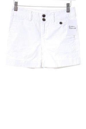 Zara Basic Shorts wollweiß Brit-Look