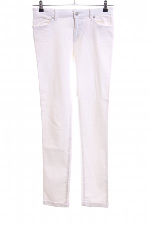 Zara Basic Skinny Jeans weiß Casual-Look