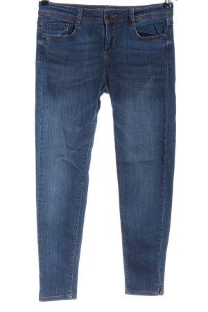 Zara Basic Skinny Jeans blau Casual-Look