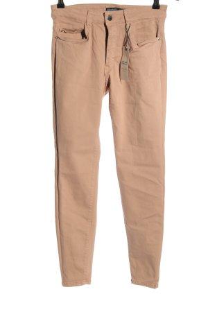 Zara Basic Skinny Jeans pink Casual-Look