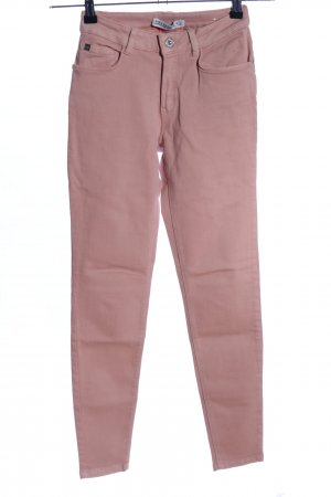Zara Basic Skinny Jeans nude Casual-Look