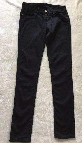 ZARA Basic Skinny Jeans Gr 34, schwarz