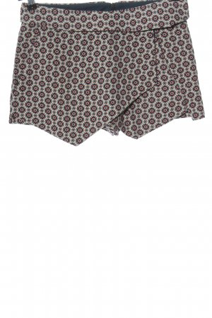 Zara Basic Skorts Allover-Druck Casual-Look