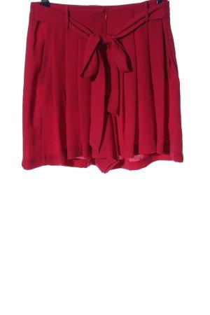 Zara Basic Skort rouge style décontracté
