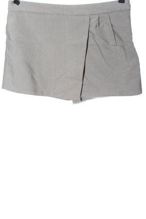Zara Basic Skort gris clair moucheté style décontracté
