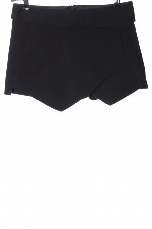 Zara Basic Skort noir style classique