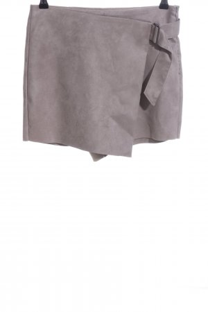 Zara Basic Skorts hellgrau Casual-Look