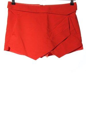 Zara Basic Skorts rood casual uitstraling