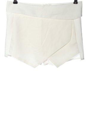 Zara Basic Skort blanc style décontracté