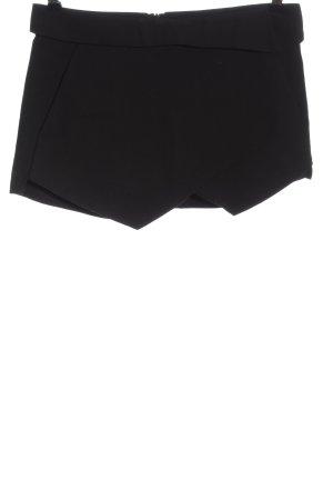 Zara Basic Skorts schwarz Casual-Look