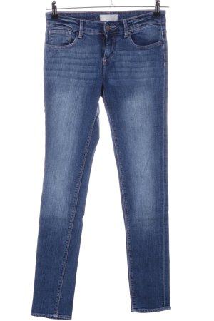 Zara Basic Slim jeans blauw casual uitstraling