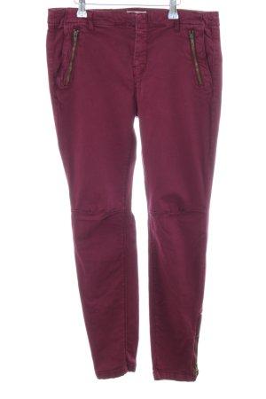 Zara Basic Slim Jeans pink Casual-Look