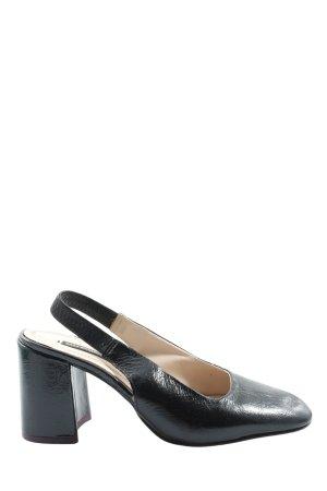 Zara Basic Décolleté modello chanel nero stile professionale