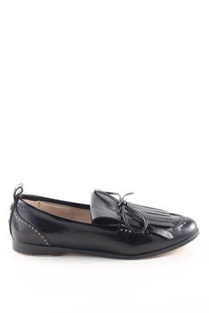 Zara Basic Pantofola nero stile casual