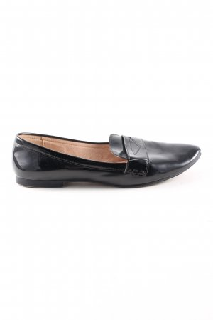Zara Basic Slippers black business style