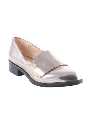 Zara Basic Pantofola oro stile festa