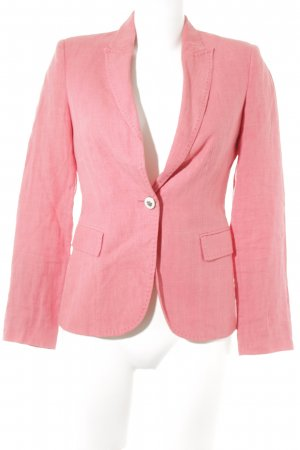 Zara Basic Smoking-Blazer magenta Business-Look