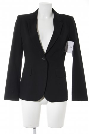 Zara Basic Smoking-Blazer schwarz